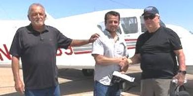 Mark came from El Paso, Texas and got his Commercial & Multi-Engine Ratings with Frost Aviation