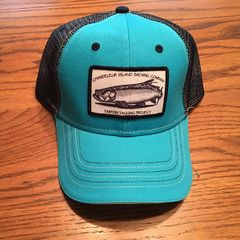 Hat - Tarpon Tagging Project Teal With Black Mesh