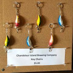 Chandeleur Island Brewing Company Key Chains