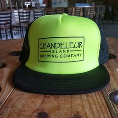 Hat - Neon Green/Black