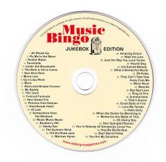 Music Bingo Jukebox Edition