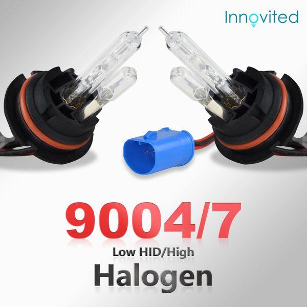 9004 9007-5000K Bi xenon HI//LO Innovited 35W AC Xenon HID LightsAll Bulb Sizes and Colors with Slim Ballast 2 Year Warranty Pure White