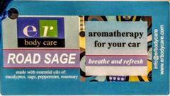 Road Sage Breathe & Refresh filled car diffuser -