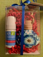 breathe & refresh synergy and car diffuser gift set