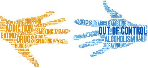 """9/30/21 - Addiction vs. Out of Control Behavior: Exploring the differences and confusion in today's """"addicted"""" society"""