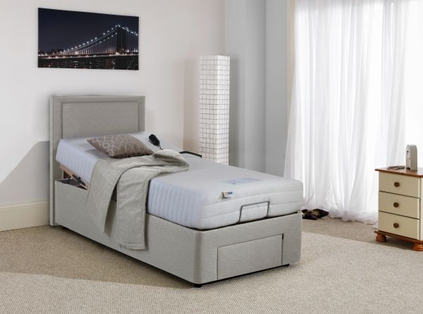 fbc0029d2b50 MiBed Elite Massage Base Blossom Soft Feel Adaptive Memory Foam Soft Feel  Electric Adjustable Bed With Free Installation.