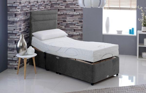 Healthbeds Memoryflex Matic Memory Foam Adjustable Bed 0