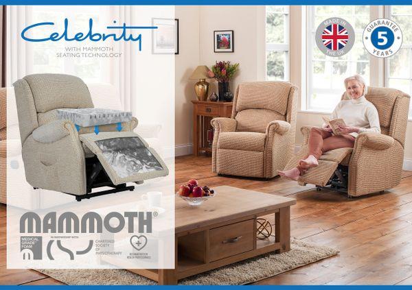 Celebrity Regent Mammoth Foam Electric Recliner Armchair