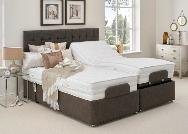 Hestia Motion Mirage Natural 1200 Adjustable Bed Heavy