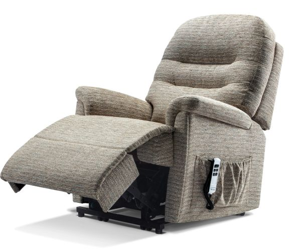 Sherborne Keswick Dual Motor Fabric Rise And Recliner Armchair