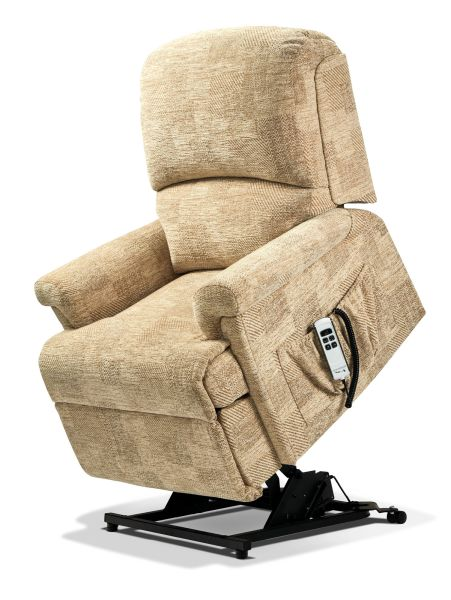 Magnificent Sherborne Nevada Dual Motor Fabric Rise And Recliner Armchair Ocoug Best Dining Table And Chair Ideas Images Ocougorg