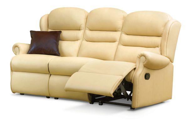 Sherborne Ashford Three Seater Electric Reclining Leather