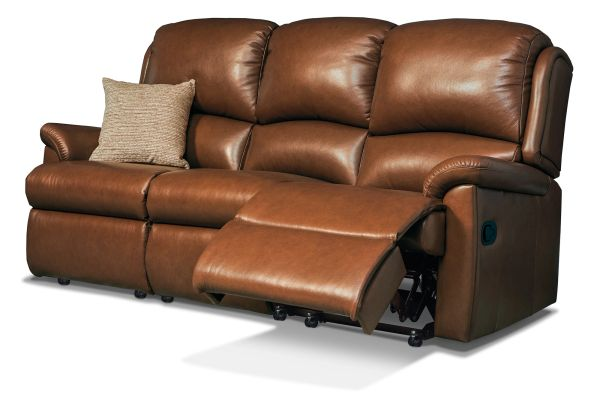 Sherborne Virginia Three Seater Electric Reclining Leather