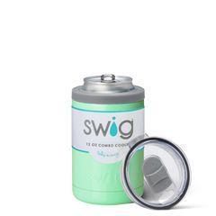 Swig 12oz Combo Cooler Mint Plain