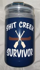 Shit Creek Survivor Swig 12oz Combo Cooler Navy