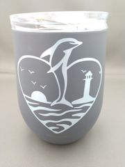 Dolphin Stainless Steel Thermal Wine Cup