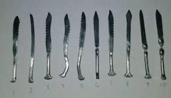 "Dabbing Tool Handmade Steel 4"""