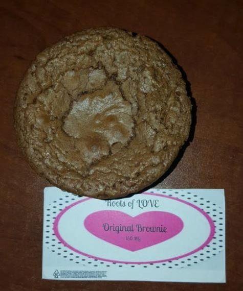 Roots of Love Original Brownie 150mg