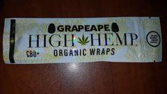 High Hemp Grape Ape Organic Wraps