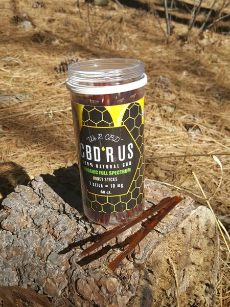 CBD R US 10 mg Cinnamon Honey Straws