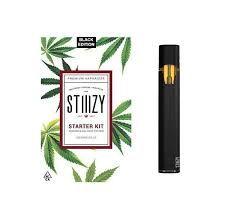 Black Stiiizy Starter Kit Pod Battery
