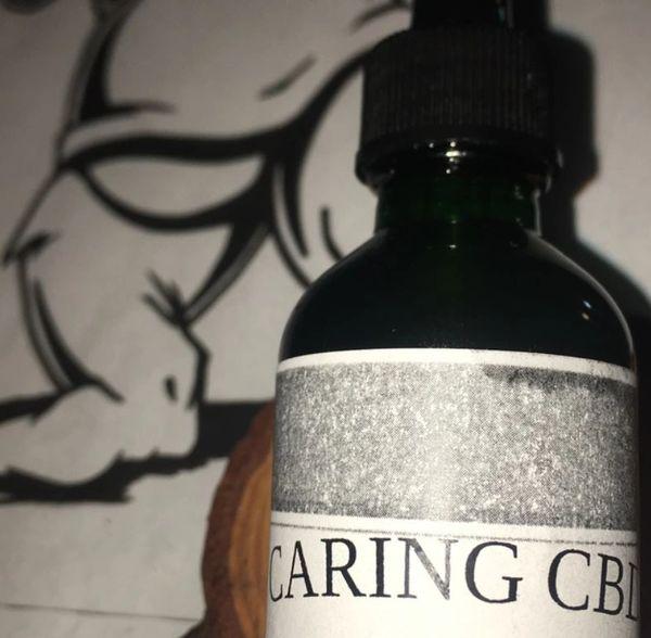 Caring CBD Tincture Cinnamon