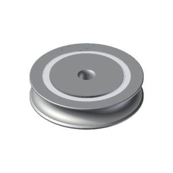"""Coverstar 2"""" pully-each/Stainless"""