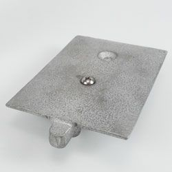 Pulley, Assembly, Flush Track, includes Pulley Casting