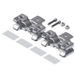 TT1010 Top-Track Speed Guide Kit-pair Stainless