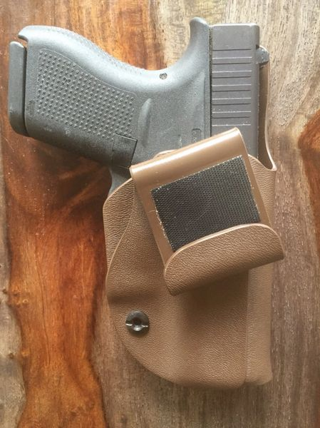 Tuckable Inside Waistband - IWB and Appendix Carry - AIWB - Holsters with  or without Laser