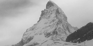 Matterhorn , Most iconic mountain, Most famous mountain, Most known mountain architecture, Alps, Swi