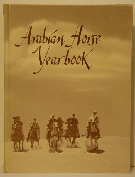 1972 Arabian Horse Yearbook