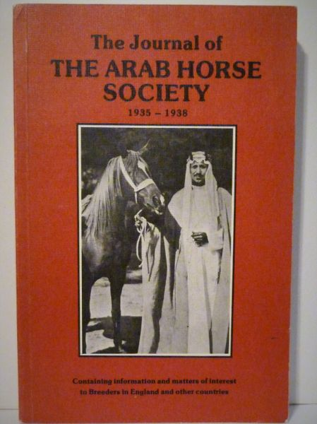 The Journal of the Arab Horse Society 1935-1938