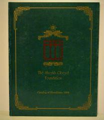 The Sheykh Obeyd Foundation Catalog of Bloodlines 1994