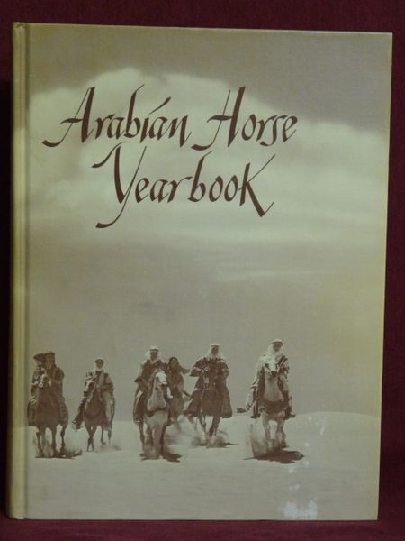 1971 Arabian horse Yearbook