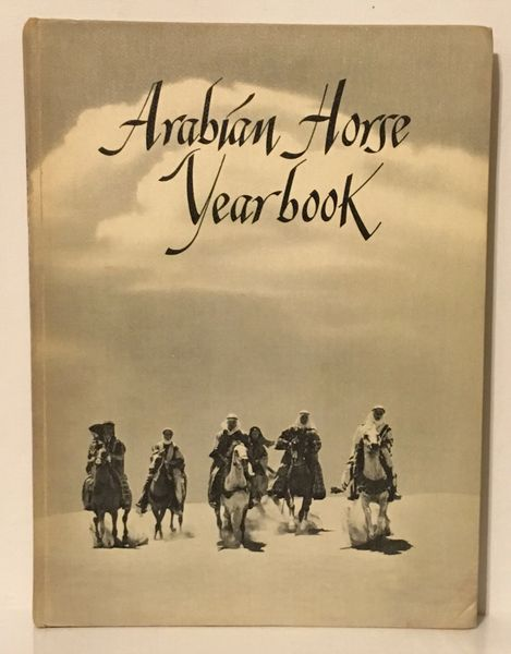 1959 Arabian Horse Yearbook