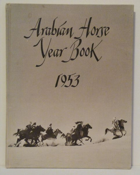 1953 Arabian Horse Yearbook