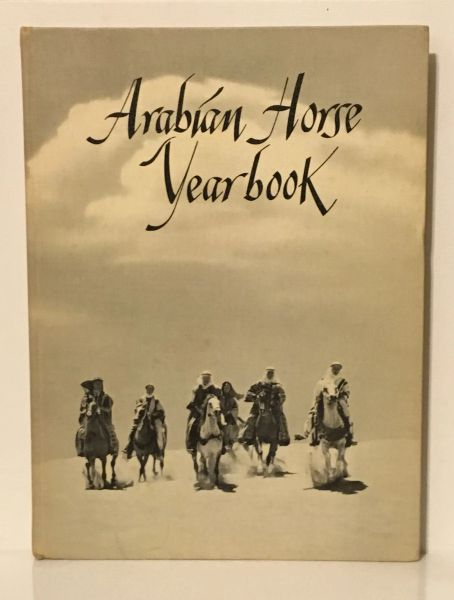 1958 Arabian Horse Yearbook