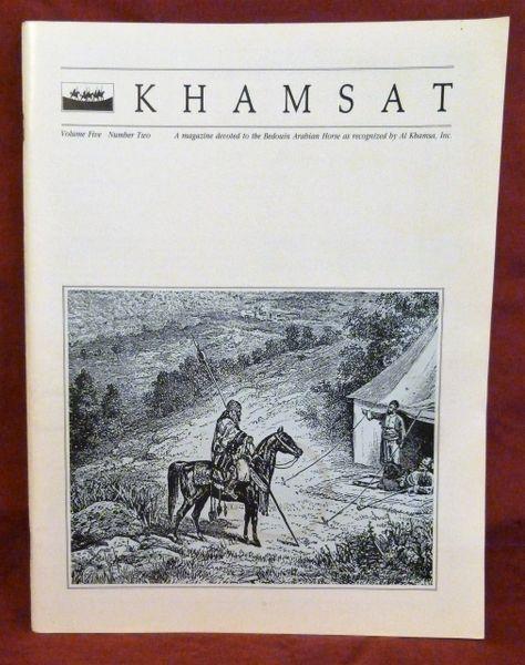 KHAMSAT Bedouin Arabian Horse Magazine by Al Khamsa vol 5 number 2