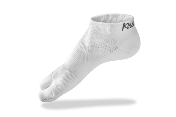 Split-Toe Socks - White