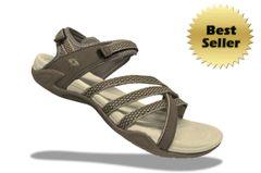 Lady X3 Sandals - Khaki/Mocha