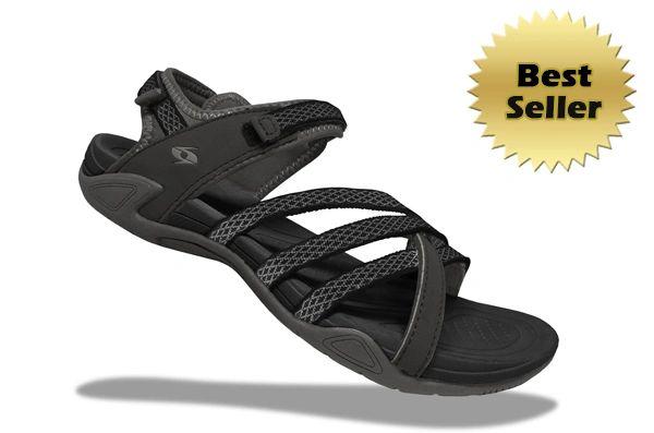 Lady X3 Sandals - Black/Gray