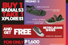 Promo # 2 : Buy 1 Radial S3 take 1 Xplore S1 and get FREE Retro Jeans
