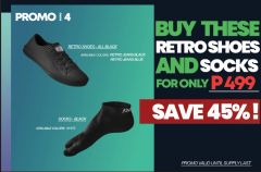 Promo # 4 : Buy these Retro Shoes and Socks