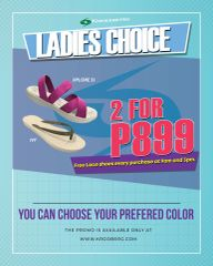 2 FOR P899 (Free Lace Shoes every 9am and 3pm)