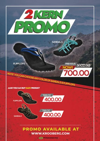 KERN PROMO : 2 for P700
