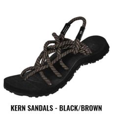 Kern S1 - Black/Brown