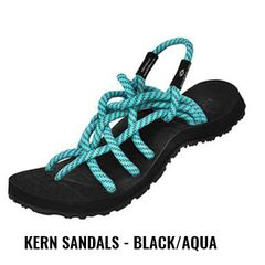 Kern S1 - Black/Aqua