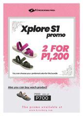 Xplore Promo - 2 for P1200