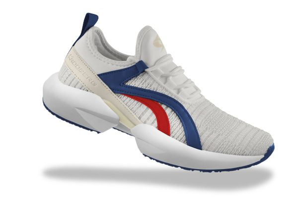 Tuscany Outdoor Shoes - Blue/Red
